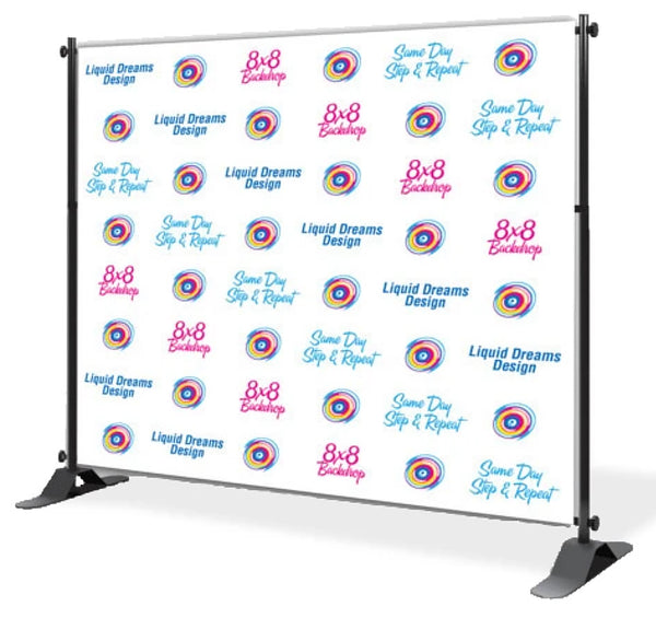 Vinyl Step and Repeat Backdrop