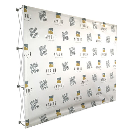 Pop-Up Fabric Display