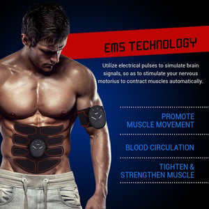 Electrical Abdomen and Arm Muscle Stimulator