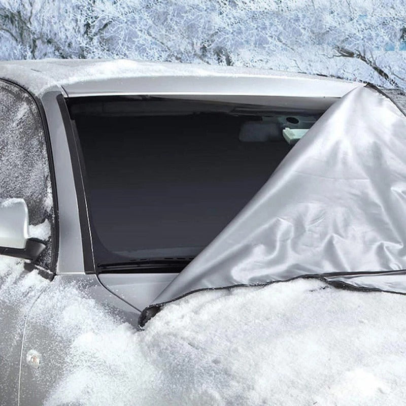 (60%Off End Very Soon)Universal Premium Windshield Snow Cover Sunshade-Buy More Save More