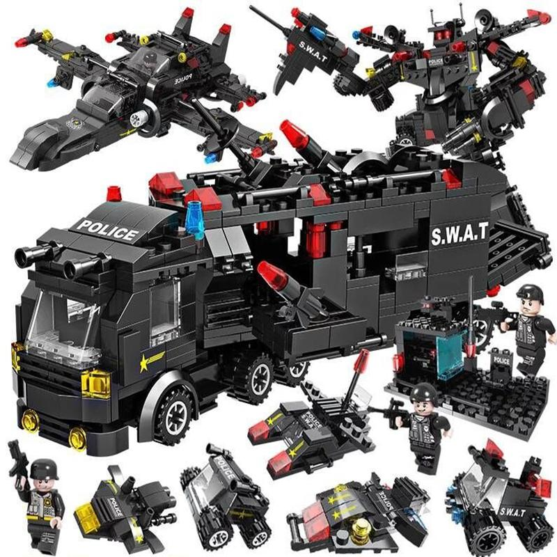 (50% Off Today Only!!!)Special police building blocks(Buy 2 Get Extra 15% OFF&Buy 3 Get Extra 25% OFF)