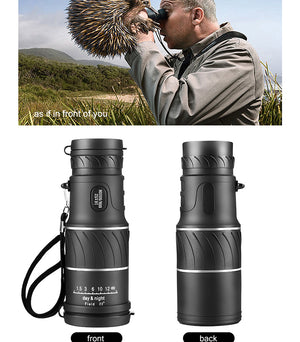 (50% Off Today !!!)2019 New Waterproof 16X52 High Definition Monocular Telescope(Buy 2 Free Shipping)