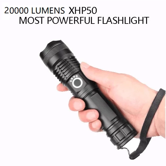 (50% Off End Very Soon)-Powerful Flashlight-Buy 2 Extra 20%Off&Buy 3 Get 1 Free