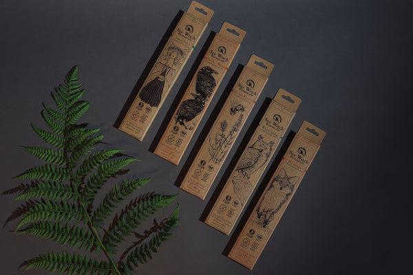 All-natural incense by Sea Witch Botanicals