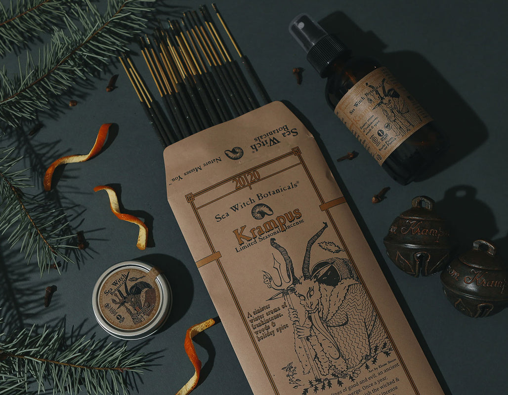 krampus seasonal scent