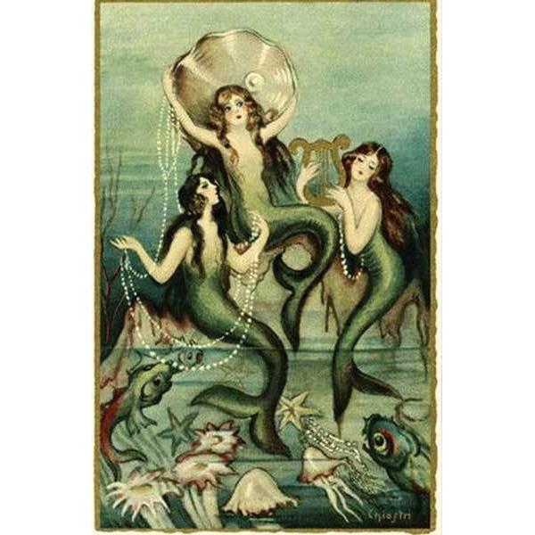 GS4742: Vintage Mermaids - Unscented Soap