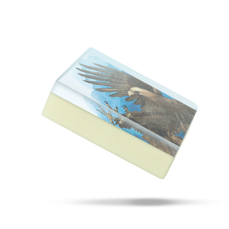 WSPE5105: Bronze Eagle Body Soap
