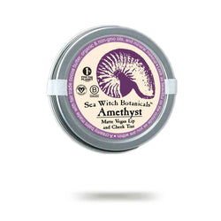 Amethyst purple mineral makeup from Sea Witch Botanicals
