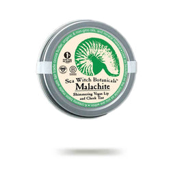 Malachite - green sustainable lip tint from Sea Witch Botanicals