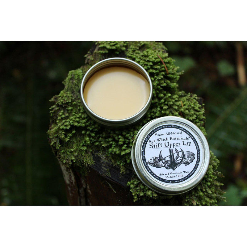 Men's: Stiff Upper Lip - Moustache Wax-Mens-11g tin-Sea Witch Botanicals