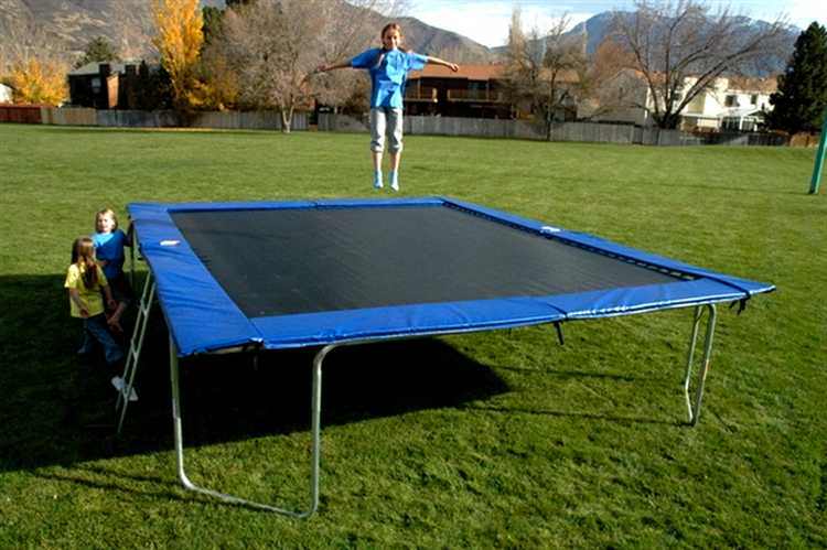 Rectangle Trampoline 14x16 foot