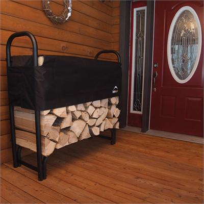 Covered Firewood Rack