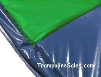 13 foot Frame Pad Blue & Green (Good)