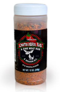 BBQ Rub - 12 oz bottle by Chupacabra