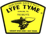 LYFE TYME TRIPLE LID SMOKER WITH FIREBOX ON SKIDS 24