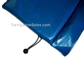15 foot Round Frame Pad Blue