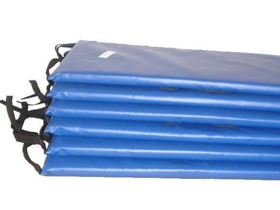 5'x10' Blue Rectangle Frame Pad (Best)