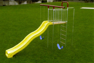 Swing Set T-Deck with Wave Slide (Item 4G)