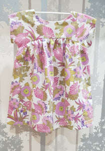 Pink/purple Bronte Dress Cotton