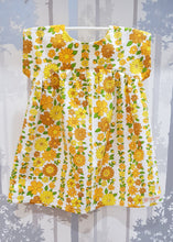 Load image into Gallery viewer, Yellow Daisies Bronte Dress Cotton