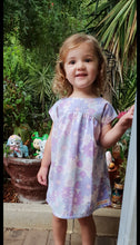 Load image into Gallery viewer, Mauve Bronte Dress Cotton Blend