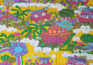 Noahs Ark Cotton Yellow
