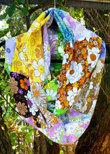 Load image into Gallery viewer, Vintage Flower Power Rainbow Infinity Scarf