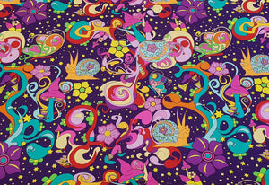 Magic Night Garden Cotton Woven 250cm x 145cm (40x40 repeat)