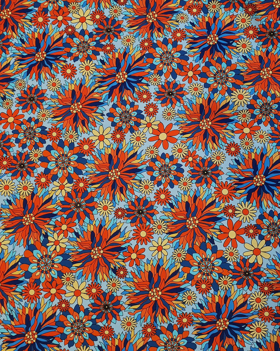 Fireworks Cotton Lycra (40x40 repeat)