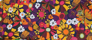 Berry Jungle Cotton Twill (40x40 repeat)