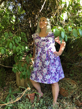 Load image into Gallery viewer, Purple Floral Dress