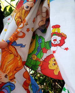 Custom for Bronwyn~Rainbow Brite Infinity Scarf