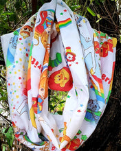 Load image into Gallery viewer, Custom for Bronwyn~Rainbow Brite Infinity Scarf