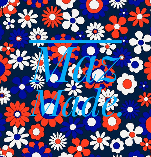 Pre Order~ Happy Daisy Blue/Red