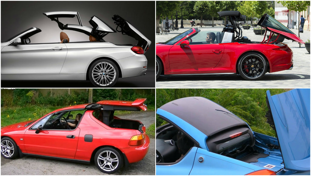 Topless Tuesday: The Most Interesting Convertible Roof Mechanisms on Modern Cars