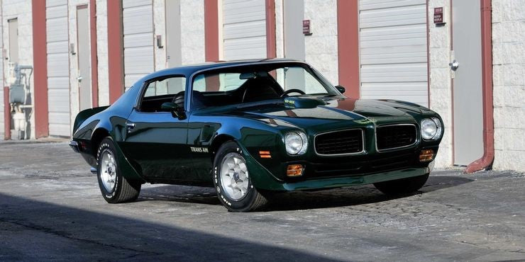 Car of the Week: 1973 Pontiac Trans Am Super Duty 455