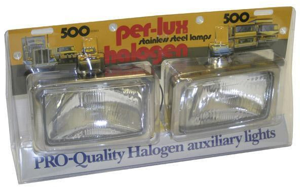 Grote 05041-5 – Per-Lux® 500 Series, Halogen Driving Lights, H9420, 1 Pair - Levine Auto and Truck Lighting