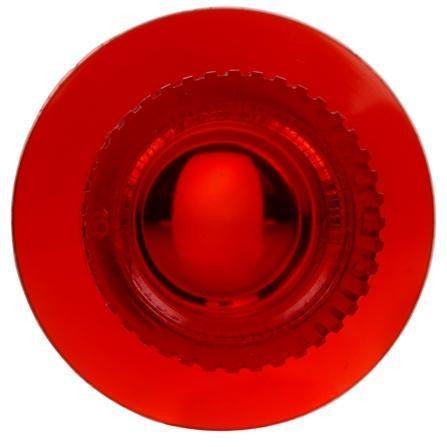 Truck-Lite 7332 Circular, Red, Acrylic, Replacement Lens, Snap-Fit