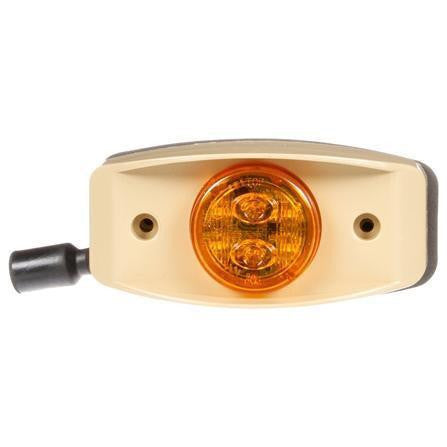 Truck-Lite 07394 Military LED, Yellow Marker Lamp, Tan Bracket, 12-24V, Kit, Marker Clearance Light, Truck-Lite