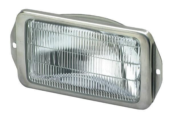 Grote 07803 – Per-Lux® Halogen Docking Light, w/ Stainless Steel Bezel, Single Lamp - Levine Auto and Truck Lighting