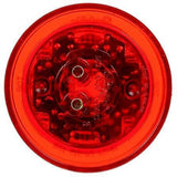 Truck-Lite 10086R 10 Series LED Red Round 8 Diode Low Profile M/C Grommet 12V Kit