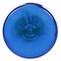 Truck-Lite 10202B Blue 10 Series Incan. Round Marker Light, PC 12V