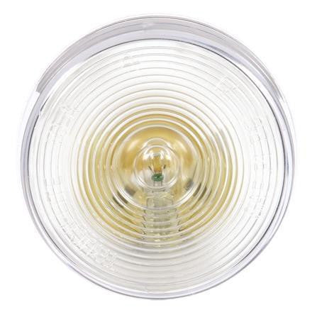 Truck-Lite 10202C 10 Series, Incan., 1 Bulb, Clear, Round, Utility Light, 12V