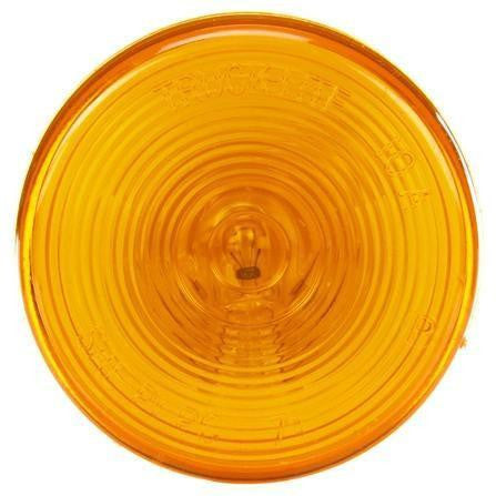 Truck-Lite 10202Y10 Series, Incan., Yellow Round, 1 Bulb, M/C Light, PC, 12V, Marker Clearance Light, Truck-Lite