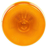 Truck-Lite 10204Y 10 Series, Incan., Yellow Round, 1 Bulb, M/C Light, PC, 24V, Marker Clearance Light, Truck-Lite