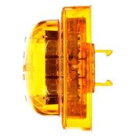 Truck-Lite 10375Y Series 10, High Profile, LED, Yellow Round, 8 Diode, M/C Light, PC, 12V, Marker Clearance Light, Truck-Lite