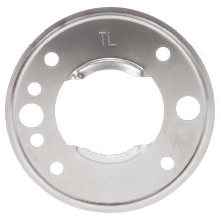 Truck-Lite 10400 10 Series, Bracket Mount, 2-1/2 in Diameter Lights, Round, Silver, 2 Screw Bracket Mount, Kit, Bracket Mount, Truck-Lite