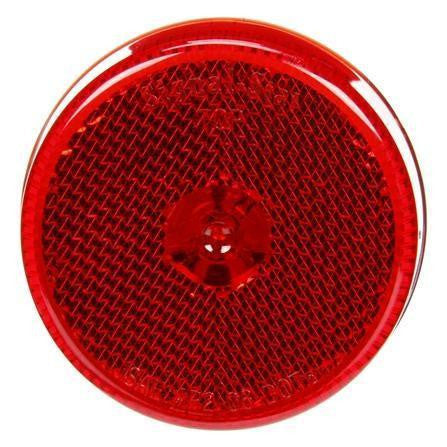 Truck-Lite 1052 Reflectorized, LED, Red Round, 4 Diode, M/C Light, P2, 12V, Marker Clearance Light, Truck-Lite