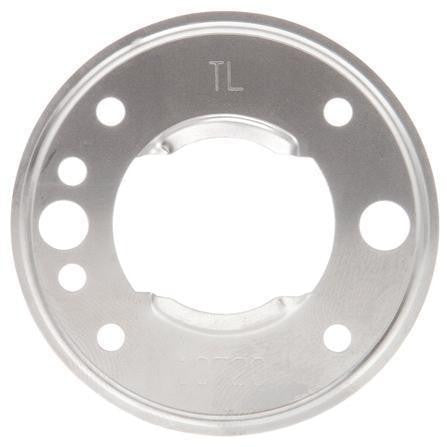Truck-Lite 10720 10 Series, Bracket Mount, 2-1/2 in Diameter Lights, Round, Silver, 2 Screw Bracket Mount, Bracket Mount, Truck-Lite