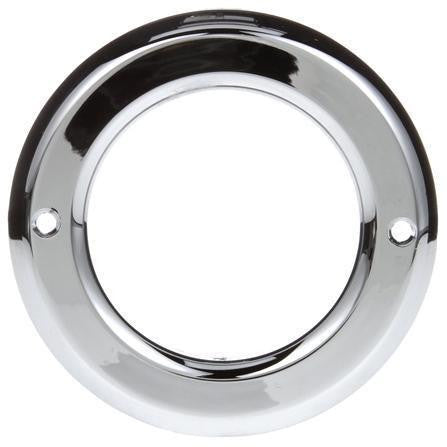 Truck-Lite 10740 Open Back Chrome Grommet Cover For 10 Series And 2.5 in Round Lights